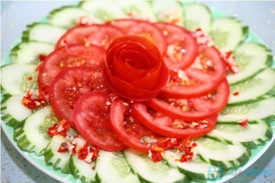 Salat dưa chuột cà chua