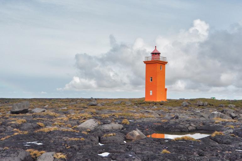 Vacances en Islande - phare de Stafnesviti
