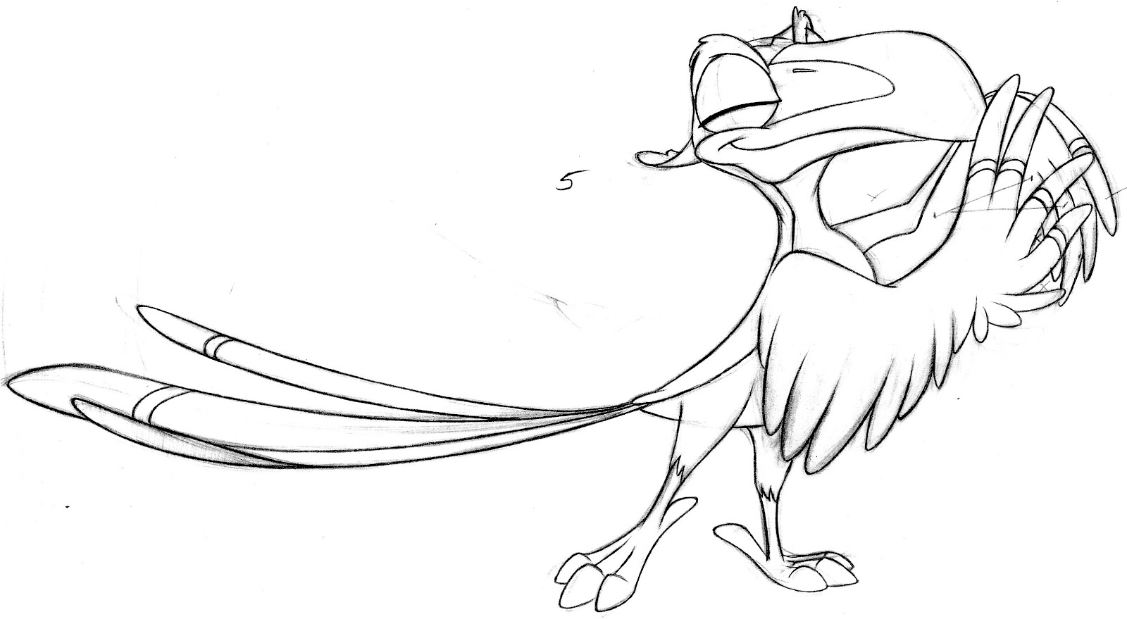 Lion King Zazu Coloring Pages