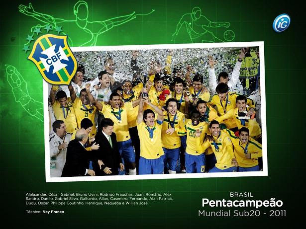 Brasil Sub 20: BRASIL PENTACAMPEÃO SUB-20