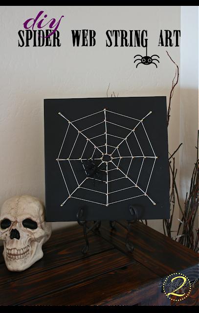 spider+web+art 12 Spooktacular Halloween Kid Crafts 31