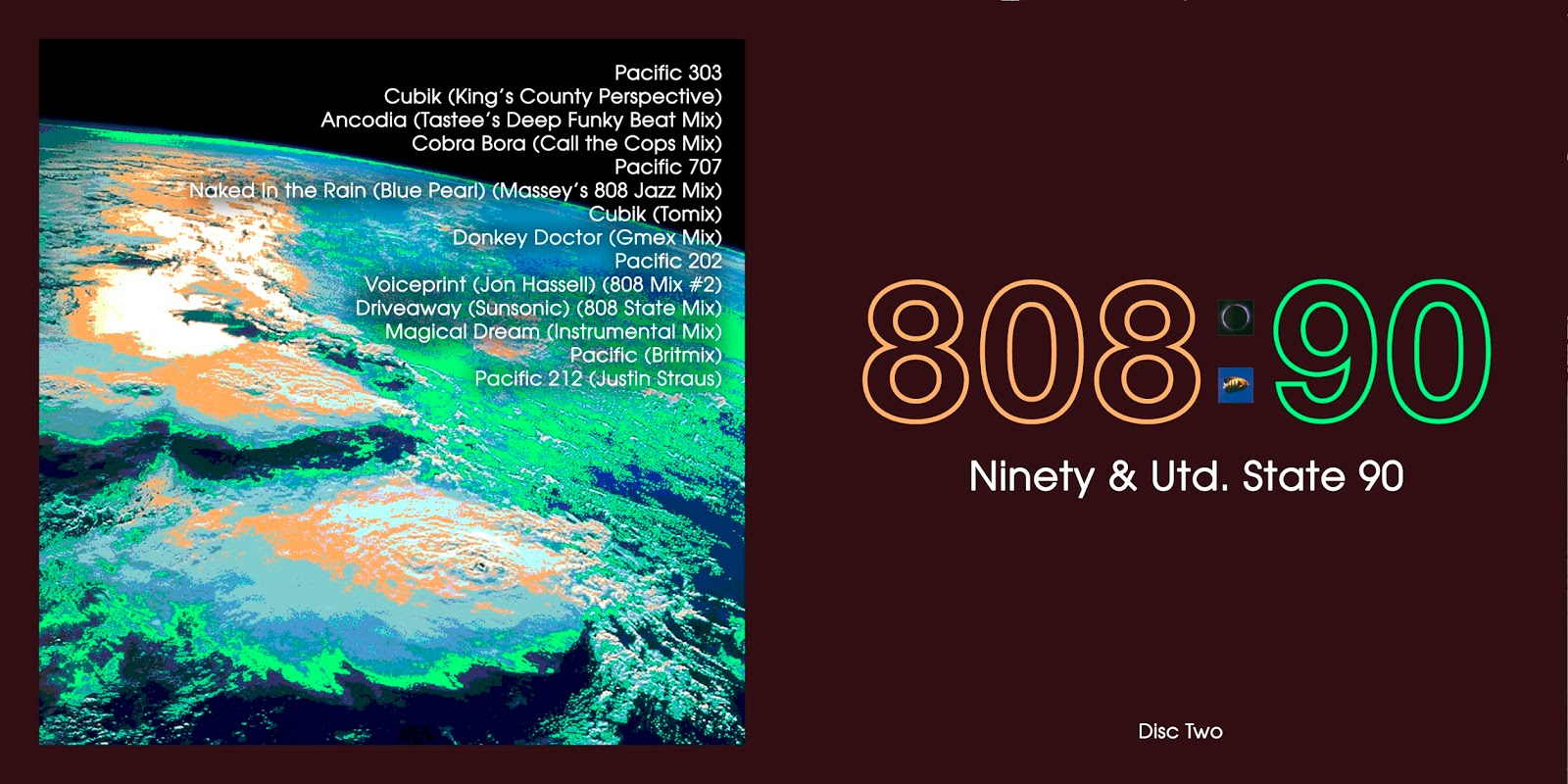 All the Air In My Lungs: 808 State - Ninety & Utd  State 90
