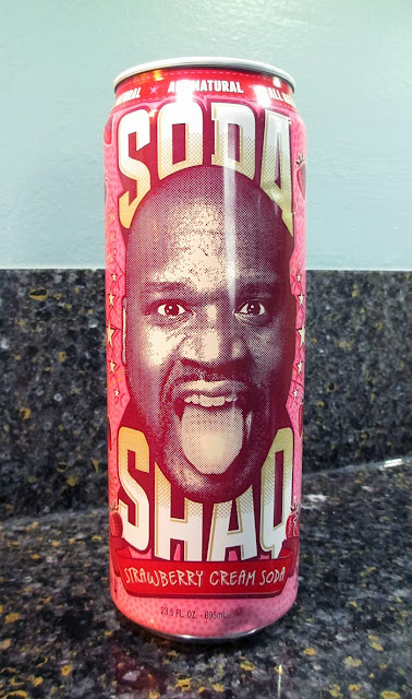 Soda Shaq Strawberry Cream Soda