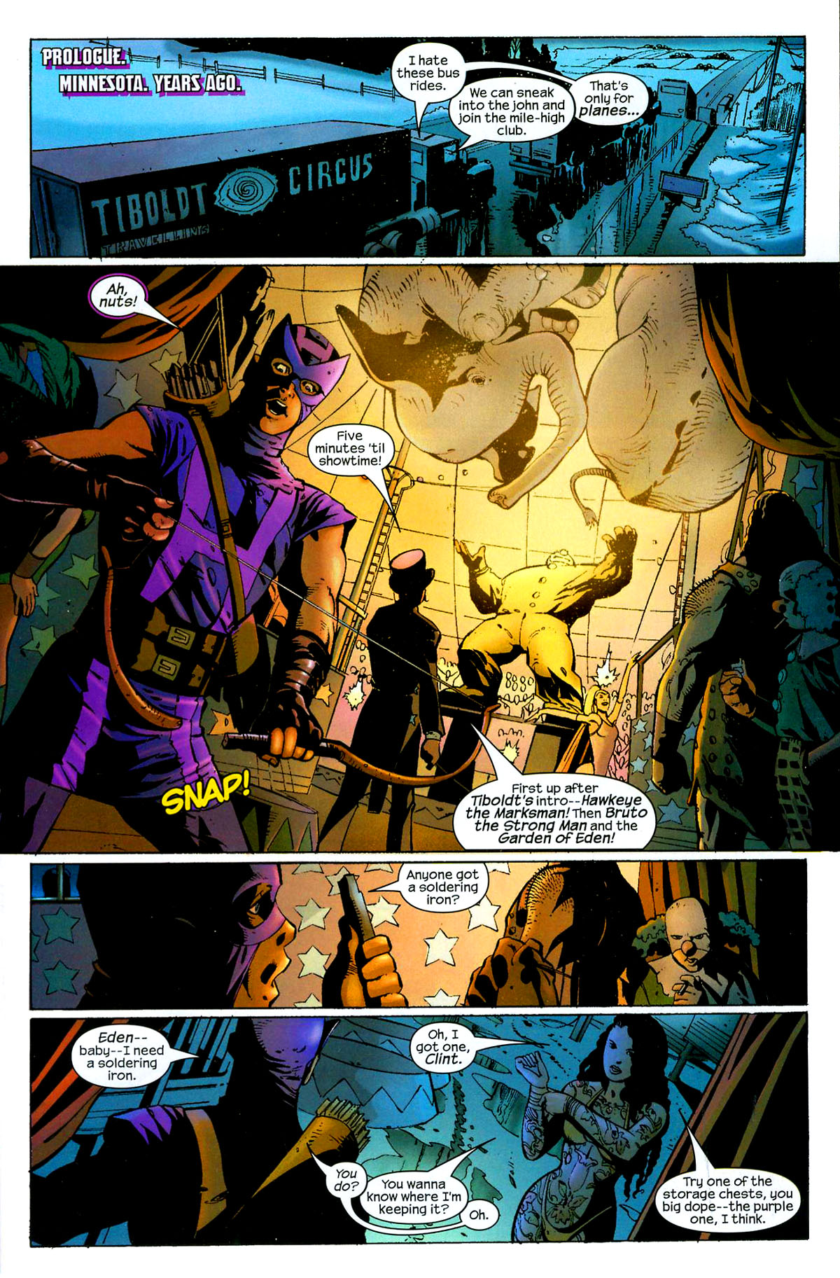 Hawkeye (2003) Issue #8 #8 - English 2