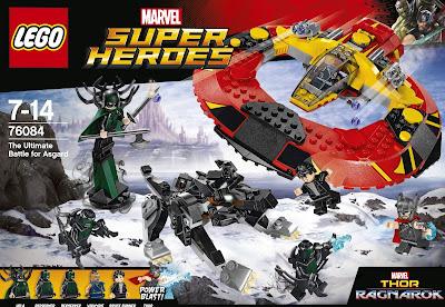 76084 Thor vs. Hulk: Arena Clash