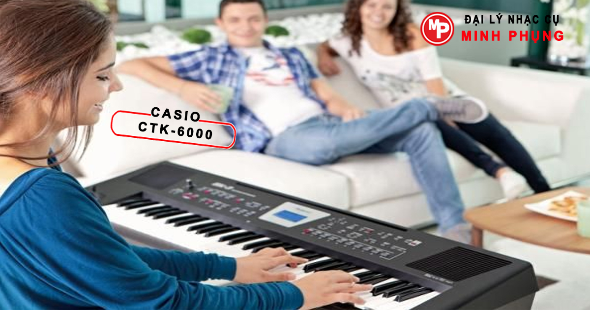 Đàn Organ Casio CTK-6000