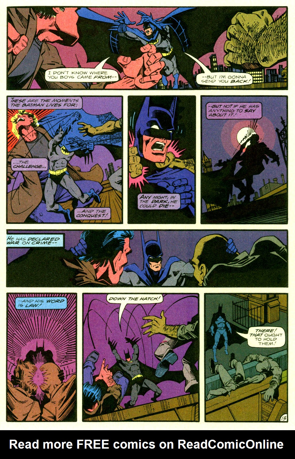 Read online Shadow of the Batman comic -  Issue #2 - 16