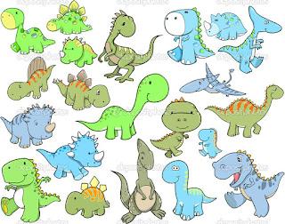 Dinosaurus imut