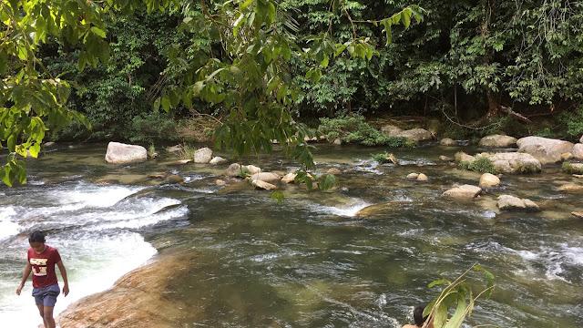 piknik tepi sungai, berkelah musim cuti, aktiviti musim cuti sekolah, sungai sedim