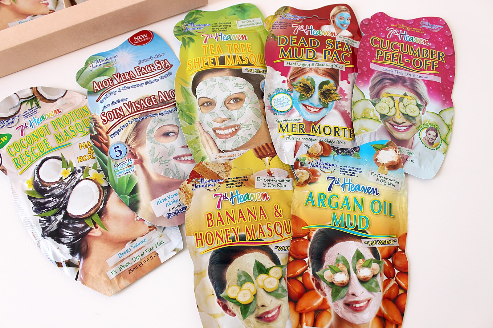 GIVEAWAY - 7th Heaven Treatment Masks