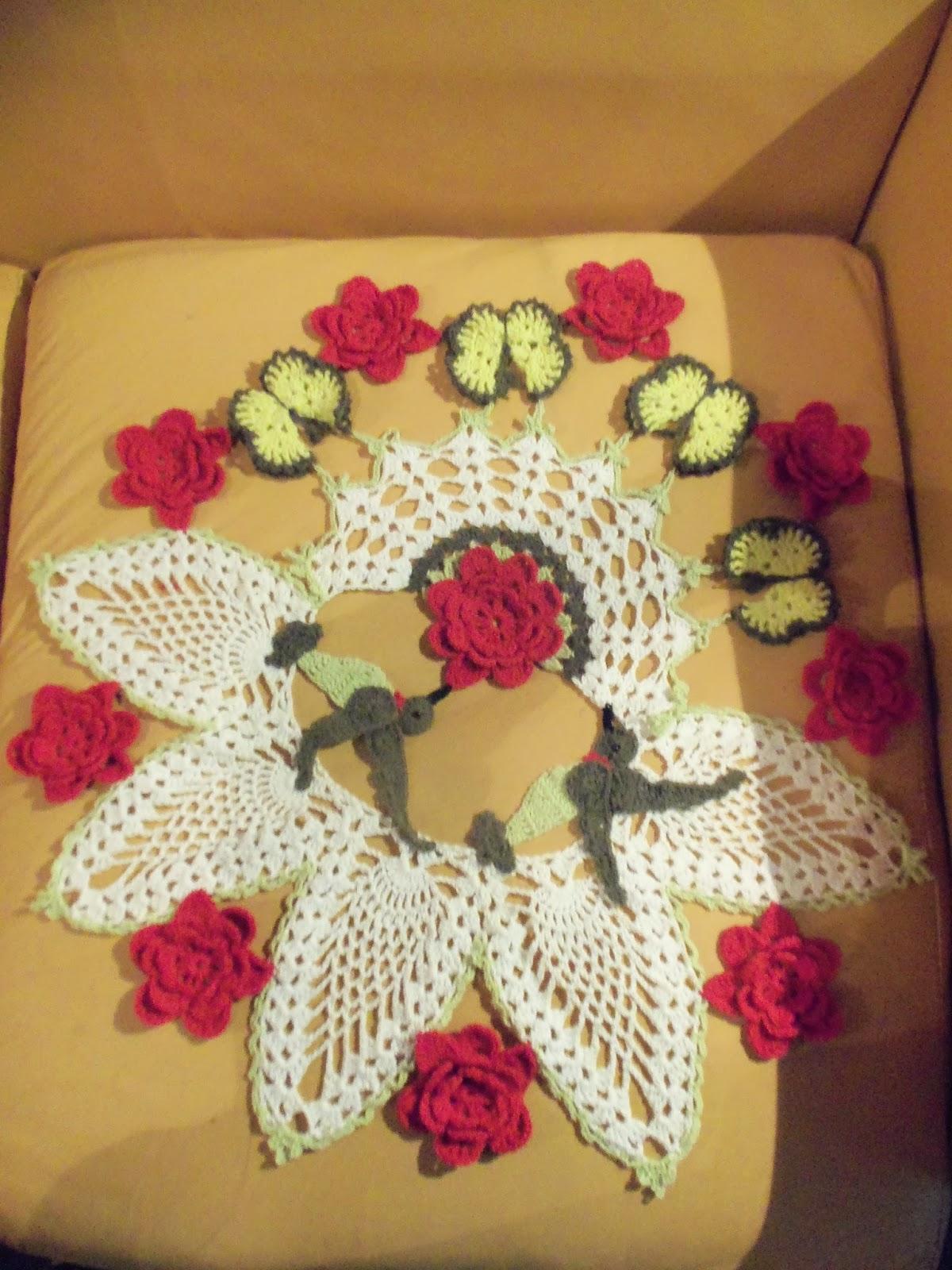 mirtejidos artesanal primavera en crochet. Black Bedroom Furniture Sets. Home Design Ideas