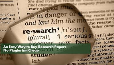 Easy Way: Cheap Research Papers