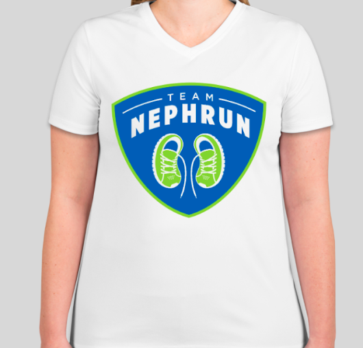 Get the NephRUN T-shirt While Fighting Multiple Myeloma