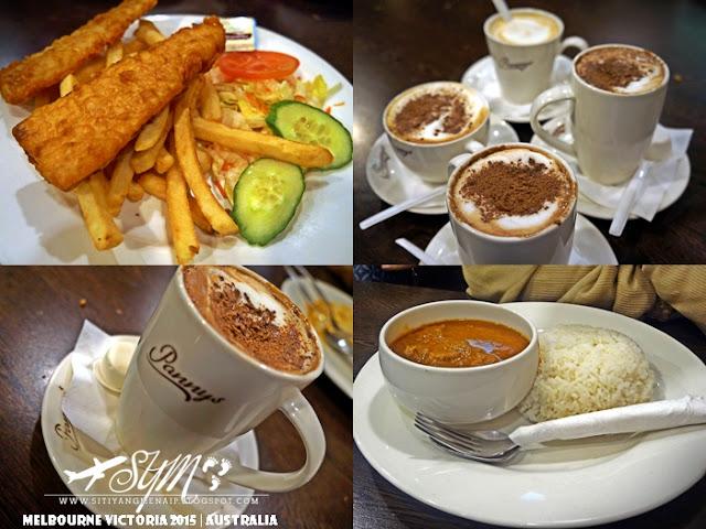 Makanan Halal Di Panny's Chocolate Factory, Makanan Halal Di Phillip Island, Panny's Chocolate Factory, Harga Makanan Di Panny's Chocolate Factory,