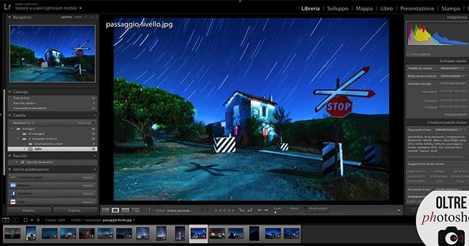 Come fotografare le stelle, fotografia notturna - Tecnica fotografica e tutorial Photoshop