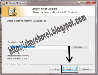 Step 6 Cara Install FL Studio 10 Full Version Disertai Gambar by sharehovel