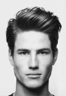 Gaya Model Rambut Pria Wajah Segitiga