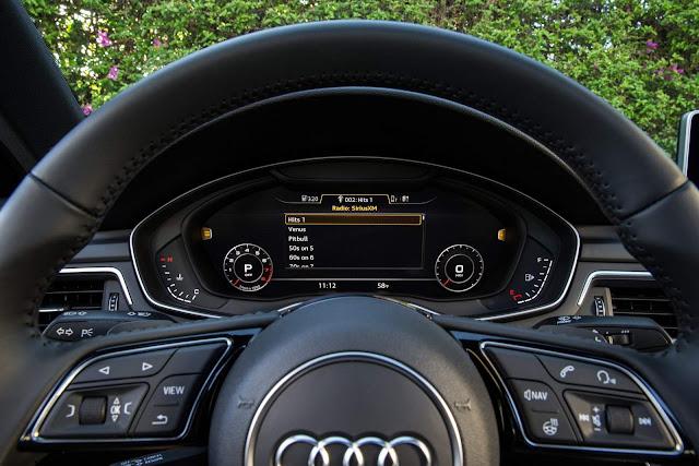 Audi A4 2017 Ultra - Audi Virtual Cockpit