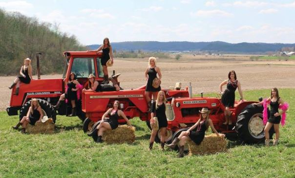 Just A Car Guy The Tractors Gone Wild Calendar Donated -9988