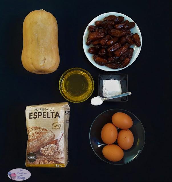 bizcocho de calabaza ingredientes