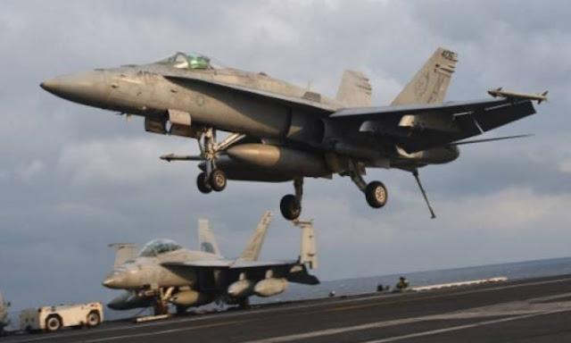 ردا على الهجوم الكميائي قصف أميركي يستهدف طائرات عسكرية ومدارج ومحطات وقود سورية