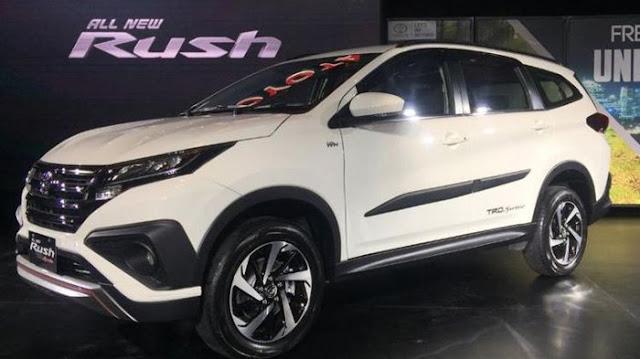 Harga dan Spesifikasi All New Toyota Rush 2018 Indonesia
