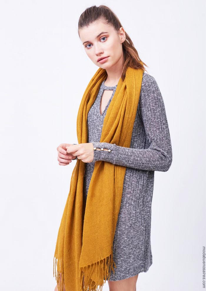Vestidos invierno 2019 ropa de mujer. │ Moda otoño invierno 2019.