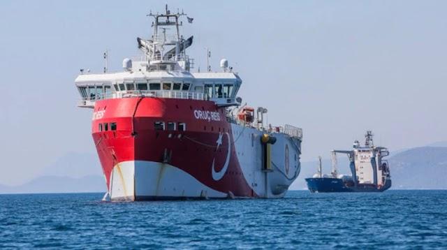 Ρωσική ιστοσελίδα: Ελληνικό υποβρύχιο έκοψε τα καλώδια του Oruc Reis στις 13 Αυγούστου