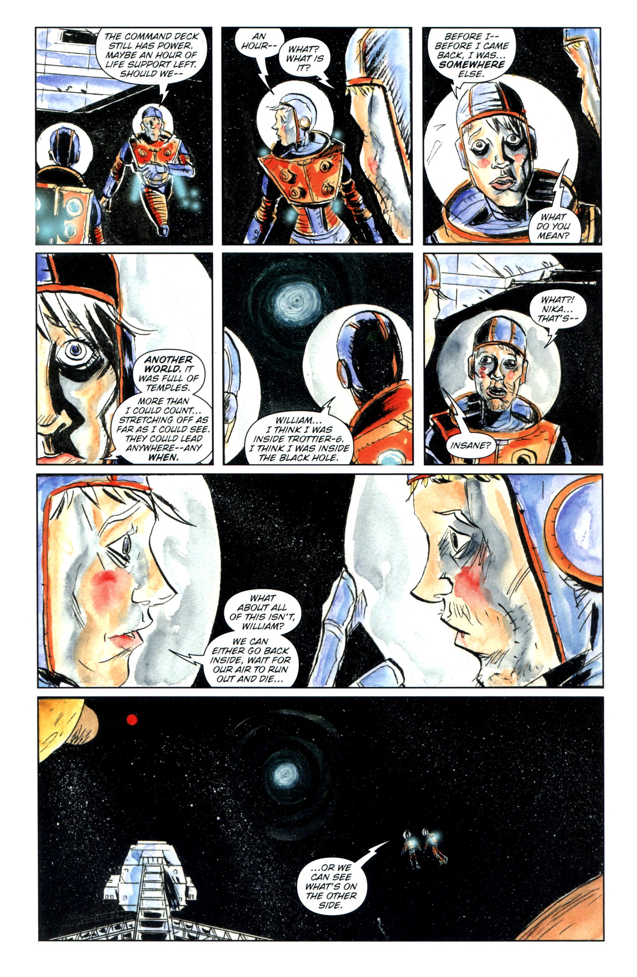 Read online Trillium comic -  Issue #8 - 21
