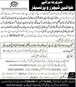 Teaching Jobs in karachi