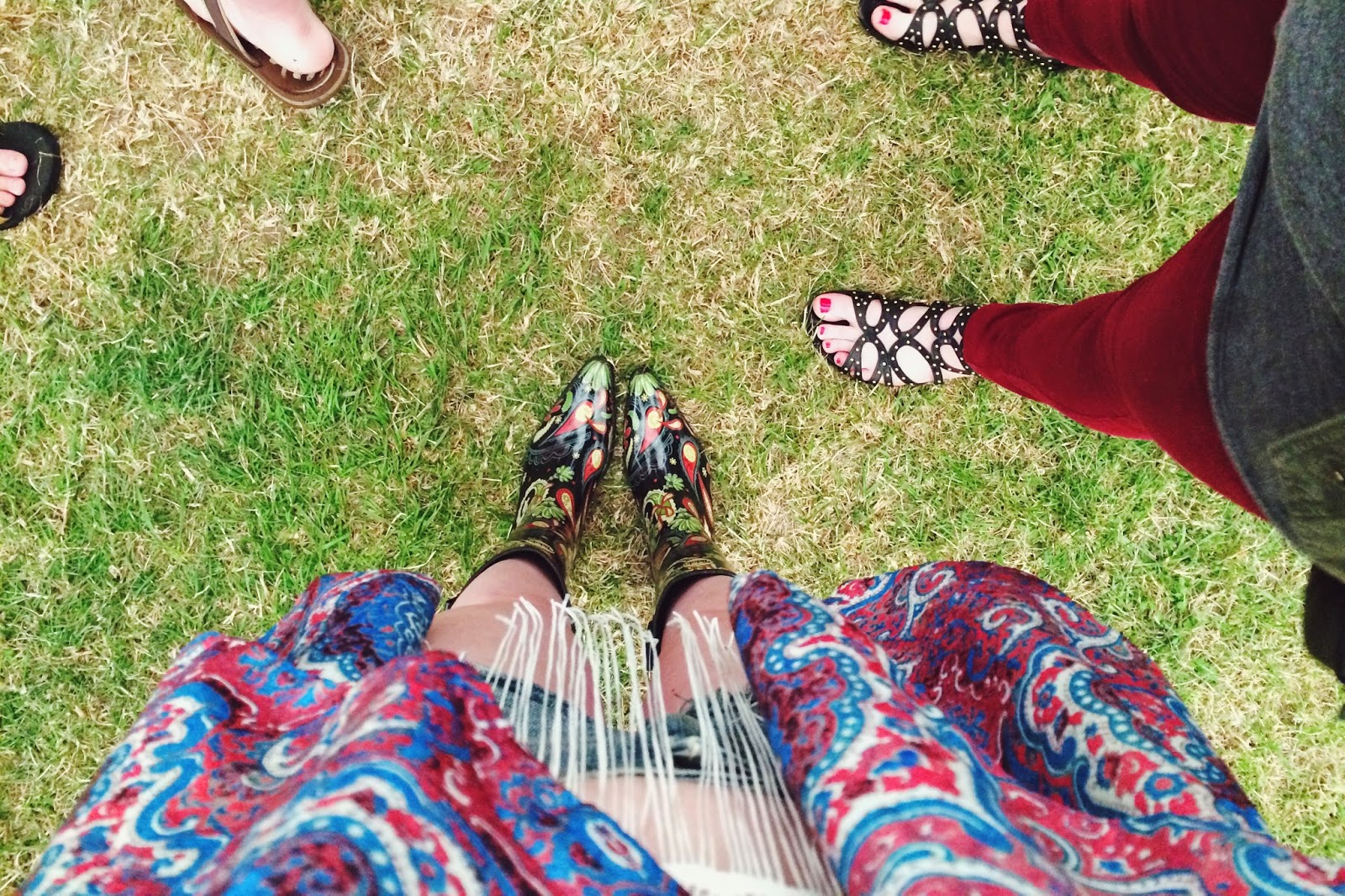 Talolo Boots, cowboy wellies, festival outfit, what to wear to a festival