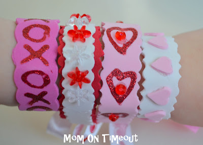 valentines day bracelets craft - Valentines Day Bracelet