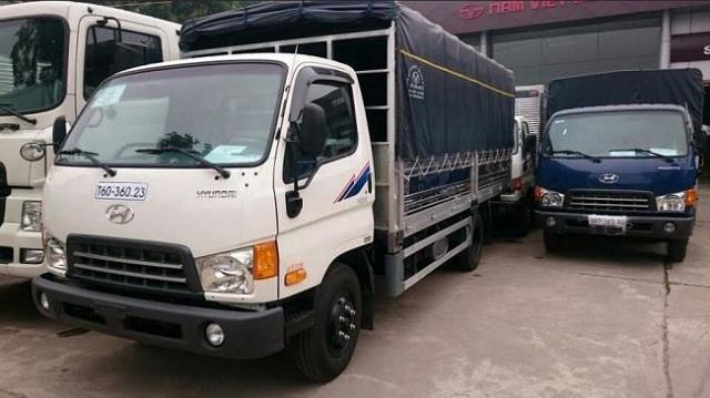 Xe tải đô thành HD120 8 tấn Hyundai