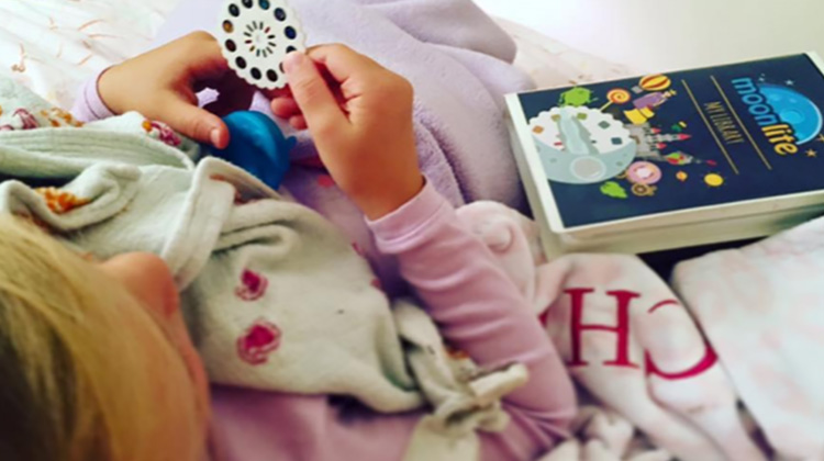 A magical bedtime story and reading experience