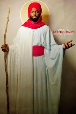 apostle bartholomew Black Biblical characters