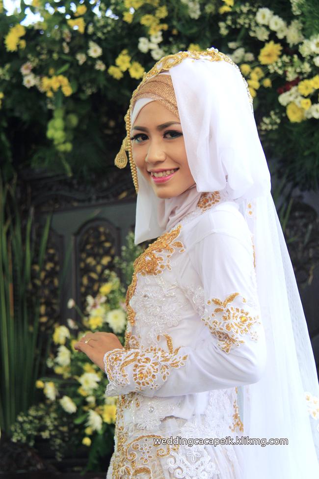 Foto Liputan Pernikahan Chaca & Peik [ 04 - Pose Setelah Akad Nikah  ] - Foto Oleh : Klikmg Fotografer Wedding Purwokerto