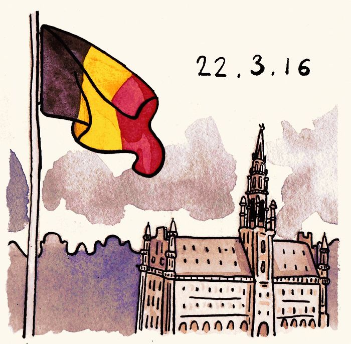 #PrayForBrussels Let's Show The World That We Are UNITED! - #8 Thinking Of Those Affected In Brussels Right Now