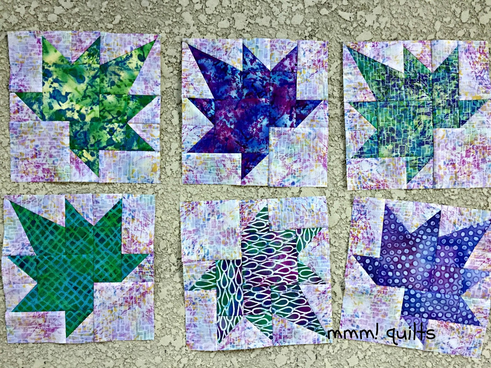 Musings of a Menopausal Melon - mmm! quilts: Freefall Quilt