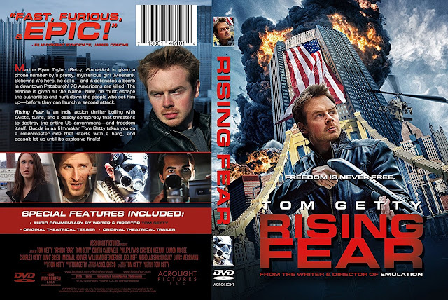 Rising Fear DVD Cover