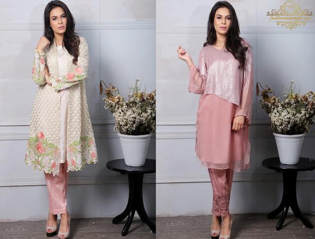 Brightest Maria.B Eid Dresses 2016-17www.fashionwearstyle.com