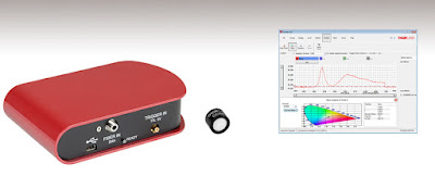 Palmia Observatory reviews use of low cost commercial spectrometer