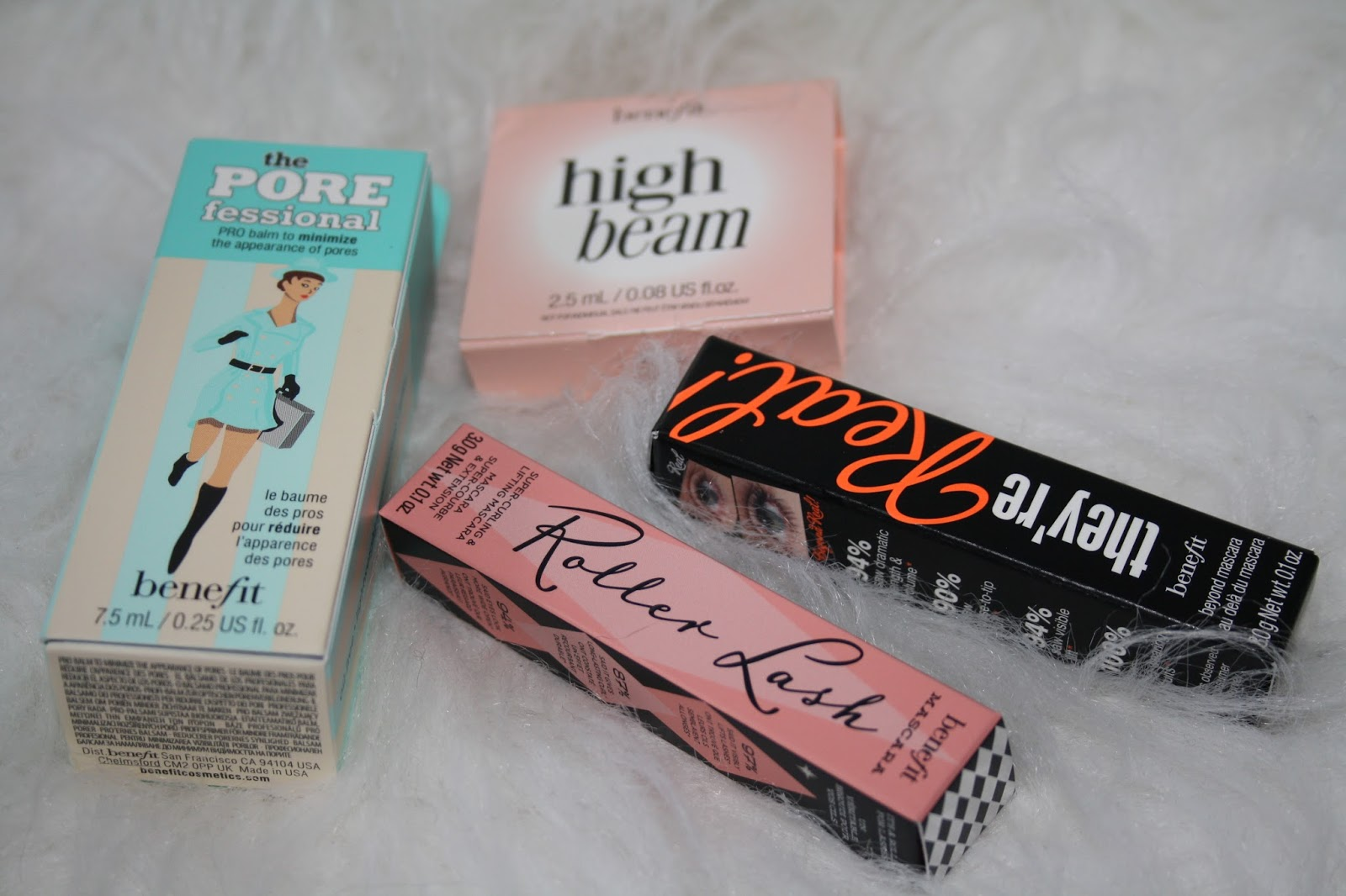 Benefit Mascara Masterclass with Birchbox