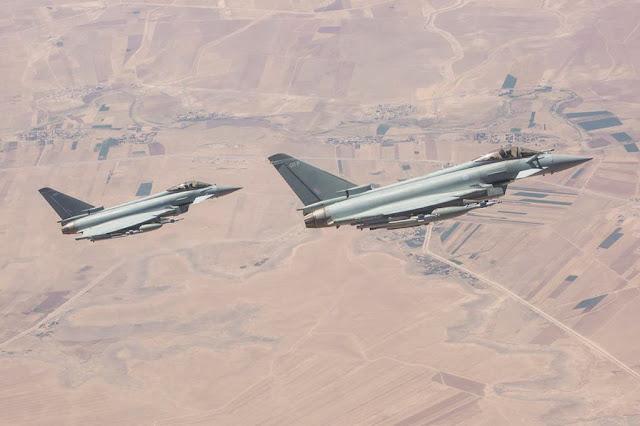 RAF Typhoon Brimstone Daesh