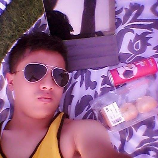A selfie by the beach in Qurum. Picture: Nischal Gurung
