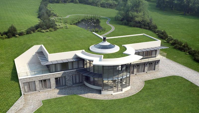 robyn liebschner some eco houses. Black Bedroom Furniture Sets. Home Design Ideas