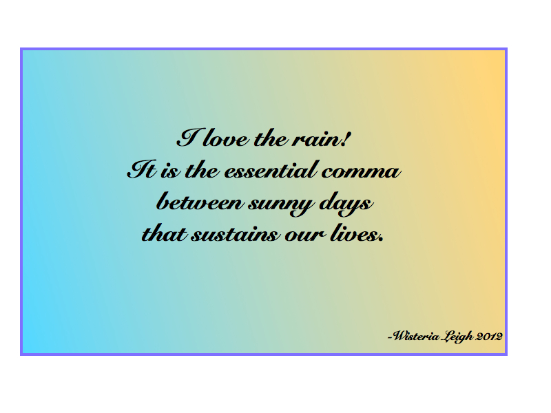 rain quotes in english - photo #20