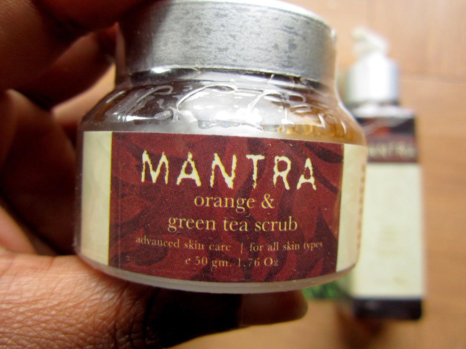 Rose & Nadine - Gommage thé vert et orange Mantra