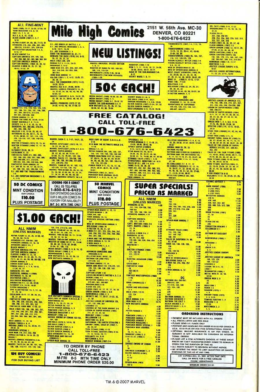 Read online Silver Surfer (1987) comic -  Issue #53 - 30