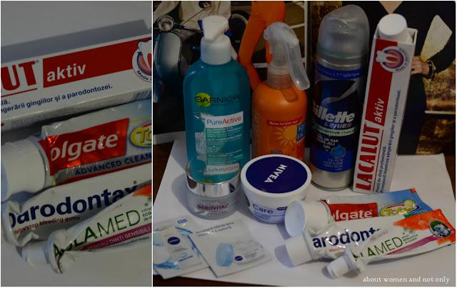 pasta de dinti, produse pentru fata si corp