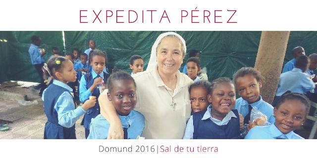 Expedita Pérez Domund 2016